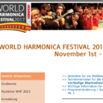 Fotos des World Harmonica Festival 2017